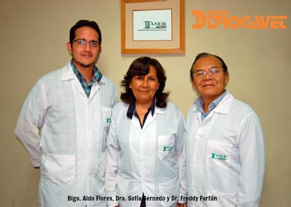 Laser Concreta Acuerdo con Laboratorios DROGAVET