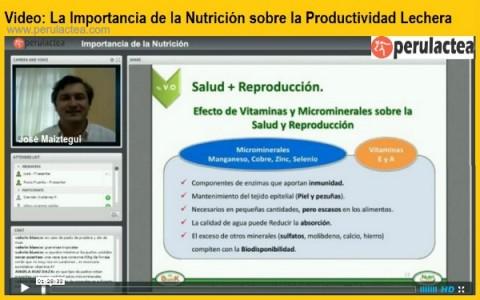 Video Perulactea Nutrición