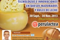 Curso On Line: Tecnologías e Innovaciones en Quesos Madurados y Dulce de Leche 🗓