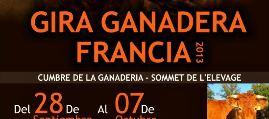 Gira Ganadera Francia 2013
