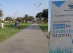 Fig 4. Parque público Promoviendo la responsabilidad ciudadana