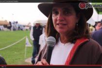 Diana Cunliffe en la III Feria Nacional Holstein