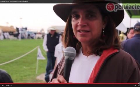 Diana Cunliffe en la III Feria Hosltein