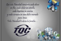 Feliz Navidad les Desea la Familia de TQC