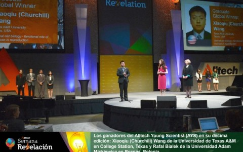 Ganadores de Alltech Young Scientist. 2015