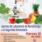 EN VIVO: Aportes del Laboratorio de Microbiología a la Seguridad Alimentaria