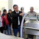 Productores de Queso de Cajamarca y Piura Recibieron Capacitación en Procesamiento de Derivados Lácteos en Planta Universitaria