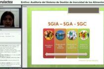 Videoclase: Auditoría del Sistema de Gestión de Inocuidad de los Alimentos (SGIA)