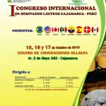 I Congreso Internacional de Derivados Lácteos, Cajamarca – Perú