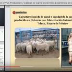 Vídeoclase: Producción y Calidad de Carne de Ovinos, Experiencia en México