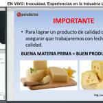 Videoclase: Inocuidad, Experiencias en la Industria Láctea