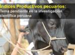 indices productivos pecuarios