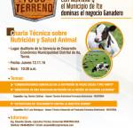 12 de Noviembre: Charla Técnica sobre Nutrición y Salud Animal (Tacna – Perú)