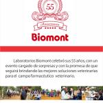 Laboratorios Biomont celebra 55 años de éxitos