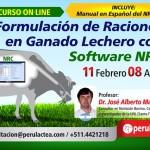 Curso On Line: Formulación de Raciones en Ganado Lechero con Software NRC