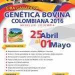 Gira Ganadera Genética Bovina Colombiana 2016