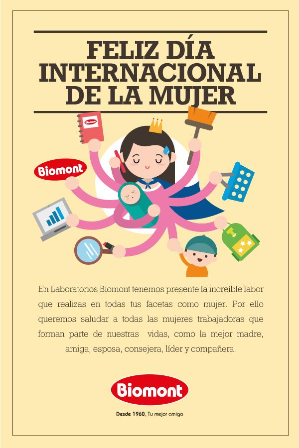 Feliz Día Internacional De La Mujer Trabajadora Perulactea