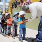Promueven Campaña Nutricional con Productos Lácteos en el Cusco