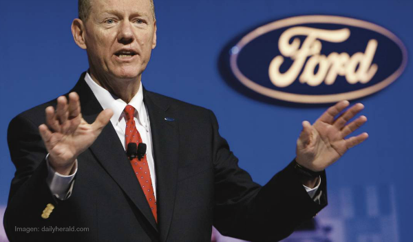 Alan Mulally, ex Presidente de FORD en One La conferencia de ideas de Alltech