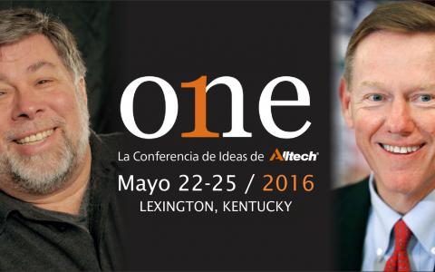 Cofundador de Apple y Ex CEO de FORD estarán en ONE conferencia de ideas de alltech Temas ciencia, agricultura, ganaderia, nutricion, emprendimiento, negocios y marketing