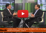 Gerente General de Alltech Perú-nutricion animal- en el Programa Mundo Empresarial - Canal N
