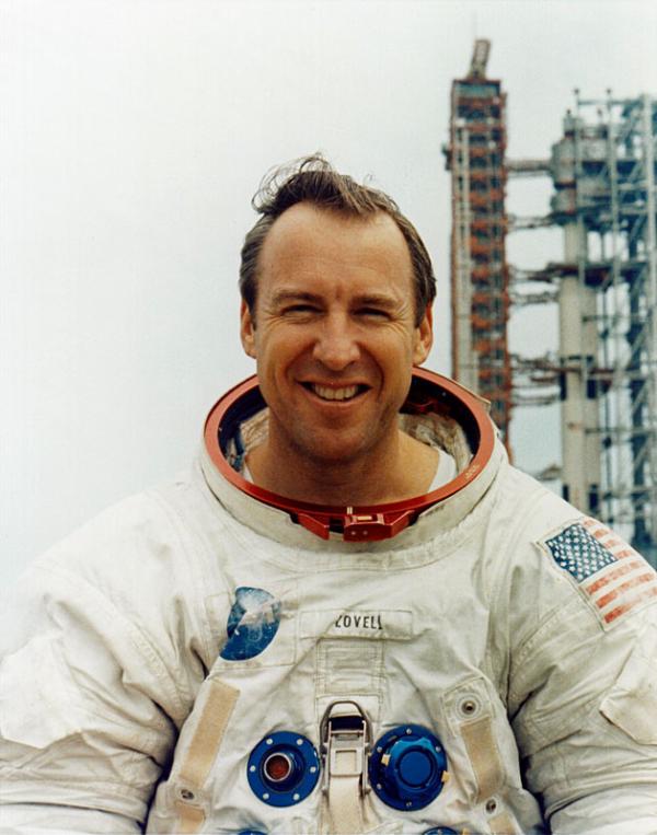 Jim_Lovell-comandante del Apolo 13-en ONE ALLTECH conferencia de ideas-alimentos para el año 2050