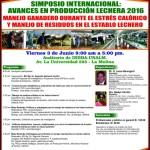 Simposio Internacional: Avances en Producción Lechera 2016