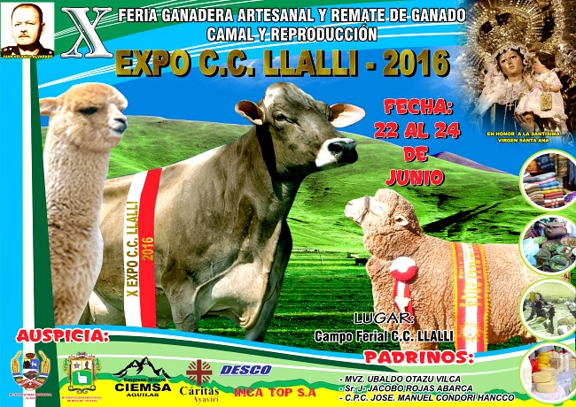 Expo_Comunidad_Campesina_LLalli_2016