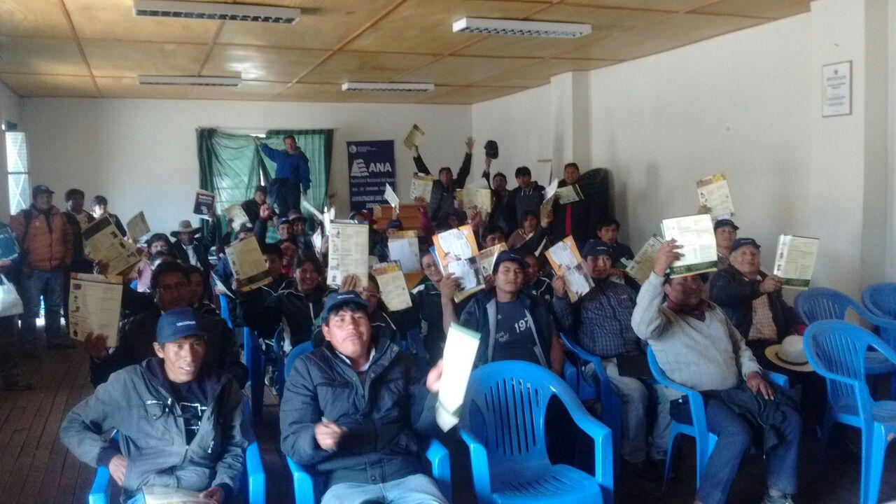 Línea Ganadera Veterinaria de Globalvet en la zona de Sicuani 02