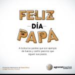 Feliz Día a todos los Padres, por que son ejemplo de fuerza y cariño