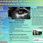 Curso Internacional de Aspiración Folicular Transvaginal de Ovocitos en Vacas