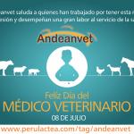 Andeanvet desea Feliz Día a los Médicos Veterinarios