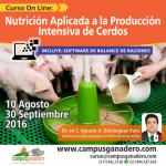 Curso On Line: Nutrición Aplicada a la Crianza Intensiva de Cerdos – Incluye Software