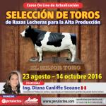 Curso On Line: Selección de Toros de Razas Lecheras para la Alta Producción