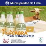 Festicabra 2016: I Festival Nacional de Caprinos y Derivados Lácteos