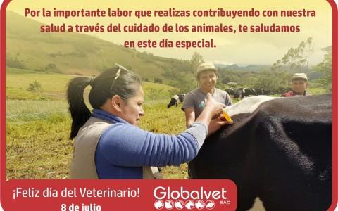 Globalvet celebra el día del Médico Veterinario