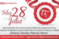 ¡Felices Fiestas Patrias Perú!