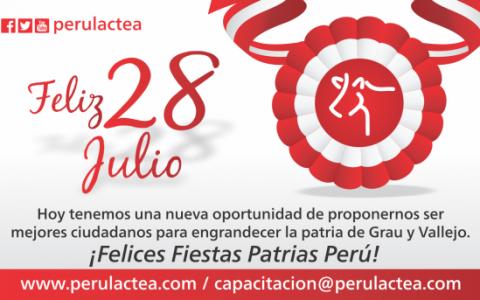 Perulactea celebra las fiestas patrias Perú