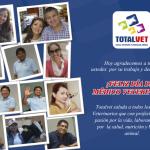 Totalvet les desea Feliz Día a los Médicos Veterinarios