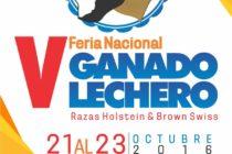 V Feria Nacional de Ganado Lechero de Raza Holstein y Brown Swiss