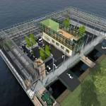 Rotérdam: Construyen Establo Flotante en el Mar
