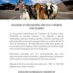Exposición Ganadera de Colombia sigue adelante pese a postergación de Congreso Asocebú