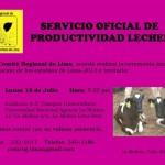 Premiación de los Establos Lecheros de Lima – Campaña 2015