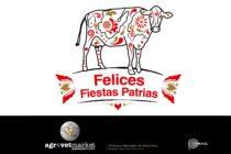Felices Fiestas Patrias a todos los peruanos en el Perú y en el mundo
