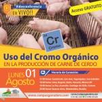 EN VIVO: Uso del Cromo Orgánico en la Producción de Carne de Cerdo
