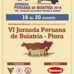 Biomont Auspicia la VI Jornada Peruana de Buiatría