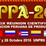 Lambayeque: XXXIX Reunión Científica Anual APPA 2016