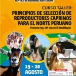 Taller: Principios de Selección de Reproductores Caprinos para el Norte Peruano