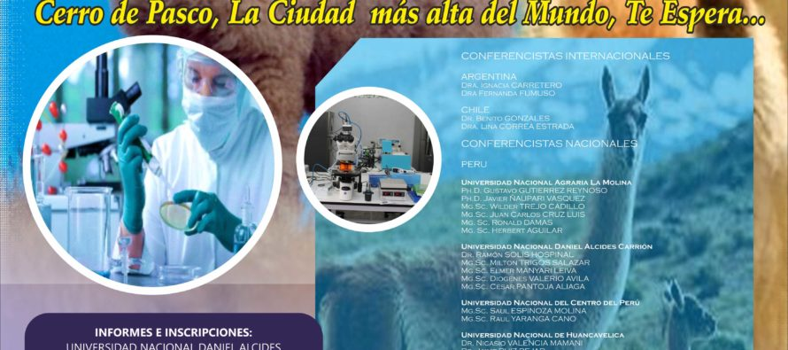 Seminario Internacional: Sistemas de Producción Sostenible en Camélidos Sudamericanos