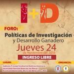 Foro: Políticas de Investigación y Desarrollo Ganadero